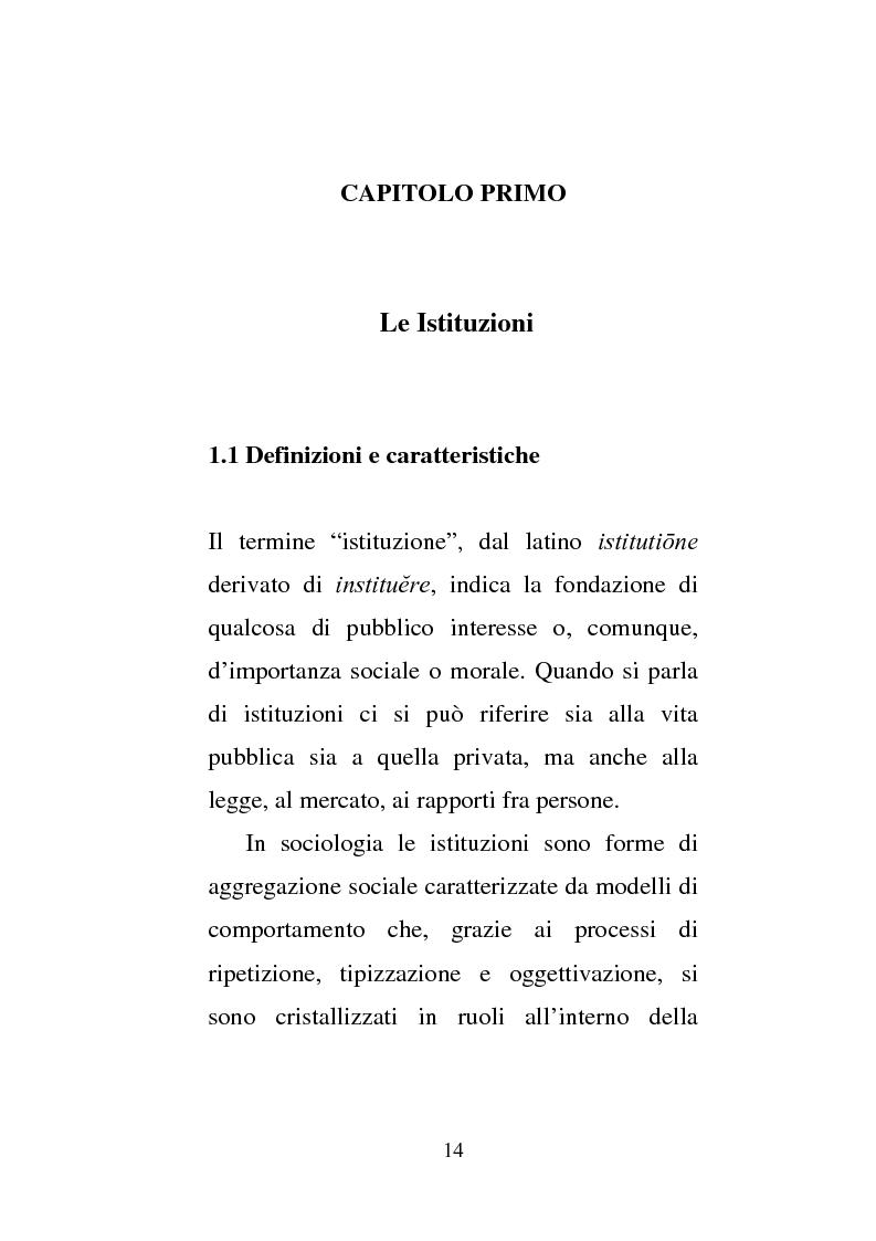 Anteprima della tesi: Donne e carcere: La maternità all'interno di istituzioni totali, Pagina 12
