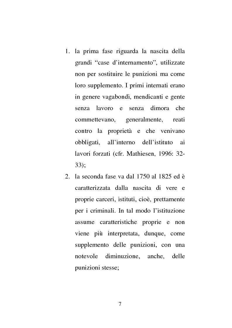 Anteprima della tesi: Donne e carcere: La maternità all'interno di istituzioni totali, Pagina 5