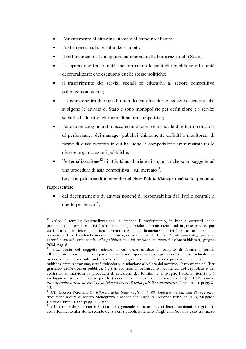Anteprima della tesi: La Pubblica Amministrazione e la Consip, Pagina 11