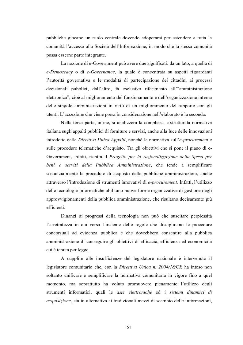 Anteprima della tesi: La Pubblica Amministrazione e la Consip, Pagina 4
