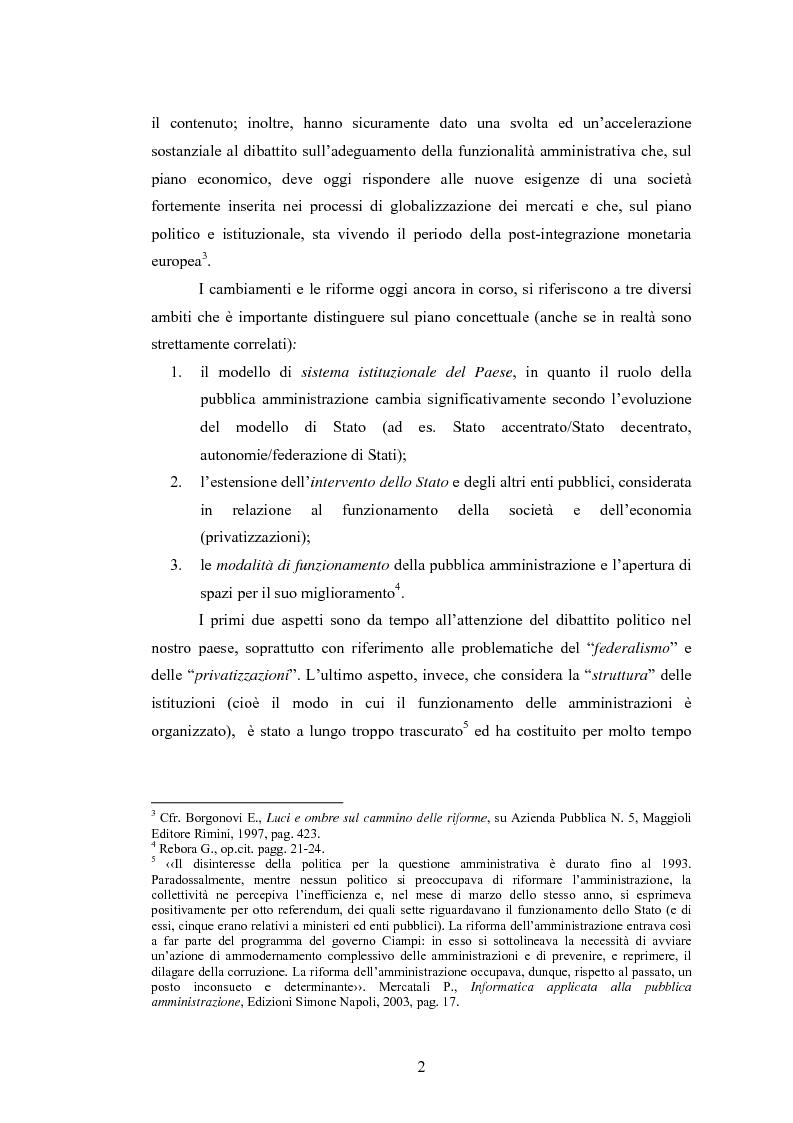 Anteprima della tesi: La Pubblica Amministrazione e la Consip, Pagina 9