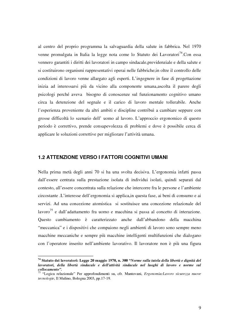 Anteprima della tesi: Viaggio in metropolitana attraverso la struttura organizzativa e fisica della stazione Termini, Pagina 5