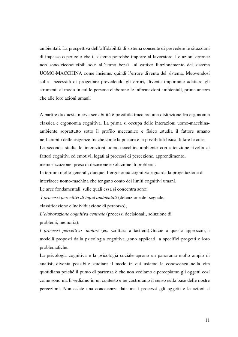 Anteprima della tesi: Viaggio in metropolitana attraverso la struttura organizzativa e fisica della stazione Termini, Pagina 7