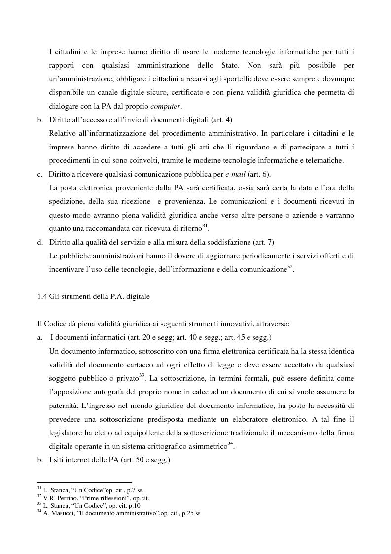 Anteprima della tesi: Il contributo dell'e-government nell'incremento dei servizi resi al cittadino, Pagina 10