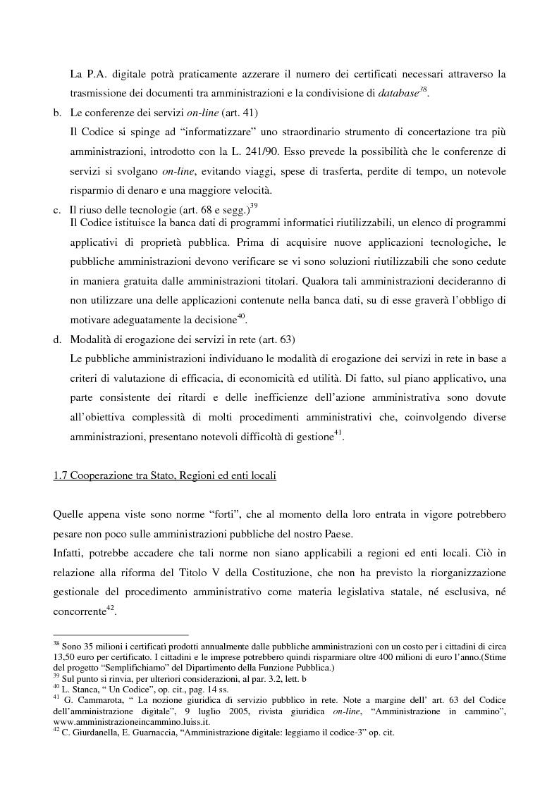 Anteprima della tesi: Il contributo dell'e-government nell'incremento dei servizi resi al cittadino, Pagina 12