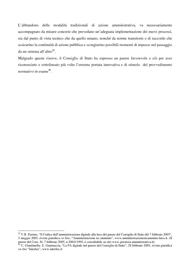 Anteprima della tesi: Il contributo dell'e-government nell'incremento dei servizi resi al cittadino, Pagina 14