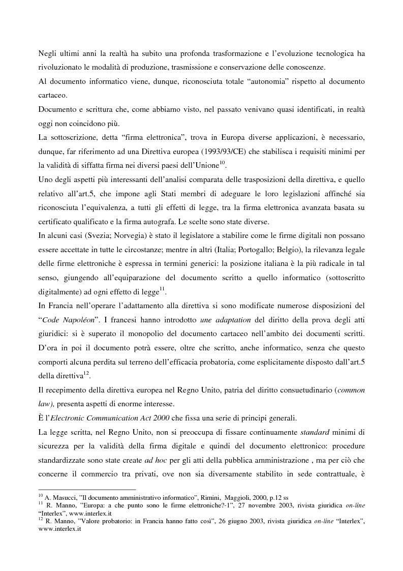 Anteprima della tesi: Il contributo dell'e-government nell'incremento dei servizi resi al cittadino, Pagina 5
