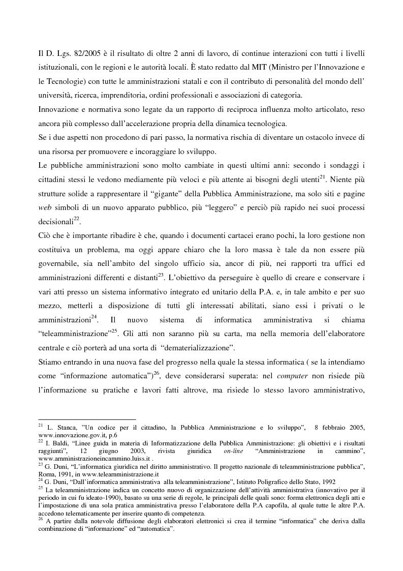 Anteprima della tesi: Il contributo dell'e-government nell'incremento dei servizi resi al cittadino, Pagina 8