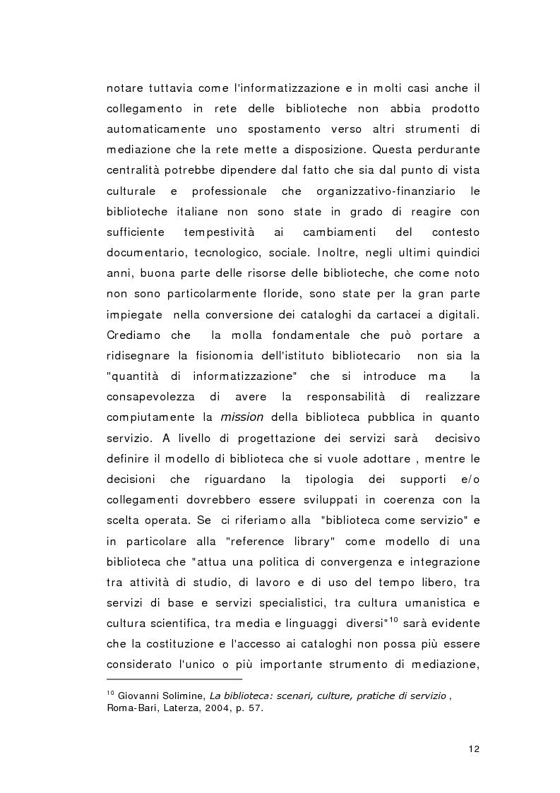 Anteprima della tesi: Biblioteca per gioco: Edutainment per la Biblioteca pubblica, Pagina 10