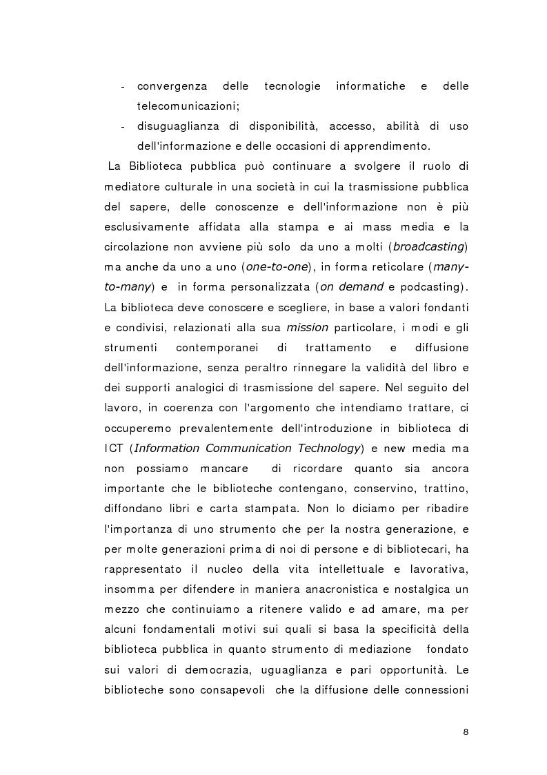 Anteprima della tesi: Biblioteca per gioco: Edutainment per la Biblioteca pubblica, Pagina 6
