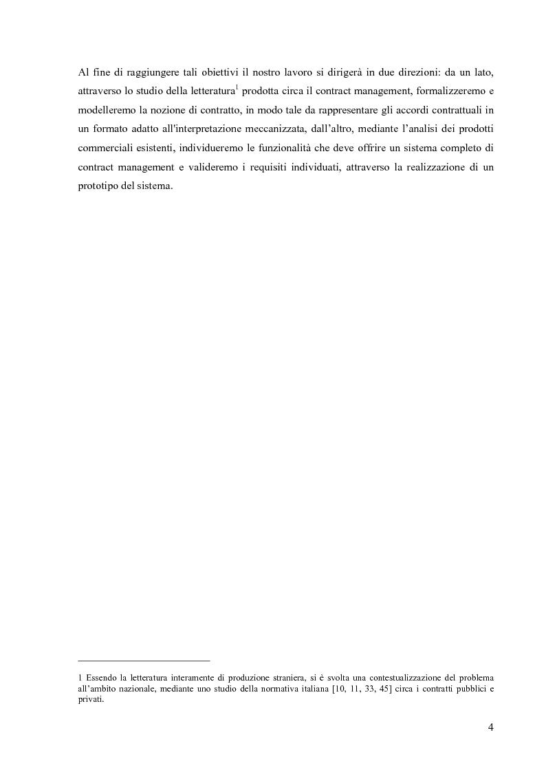 Anteprima della tesi: Un prototipo per la gestione del ciclo di vita dei contratti legali, Pagina 2
