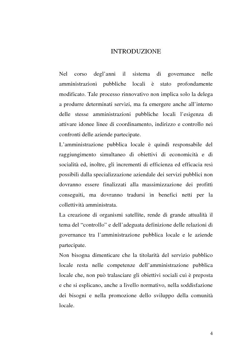 Anteprima della tesi: La governance nei gruppi di interesse locale, Pagina 1