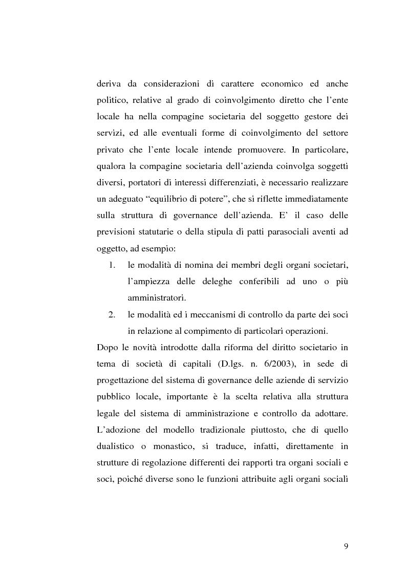 Anteprima della tesi: La governance nei gruppi di interesse locale, Pagina 6