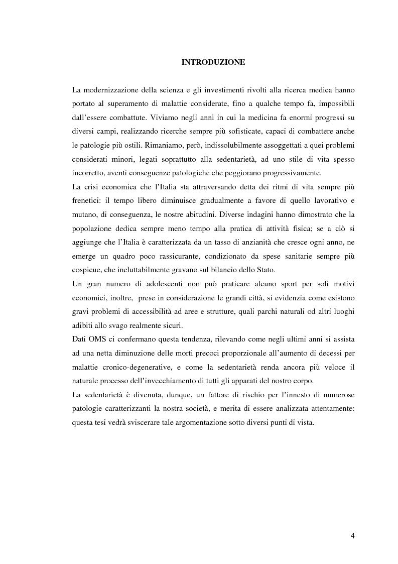 Anteprima della tesi: Impatto delle attività motorie sui costi sanitari: prospettive per la prevenzione e la sanità pubblica, Pagina 1