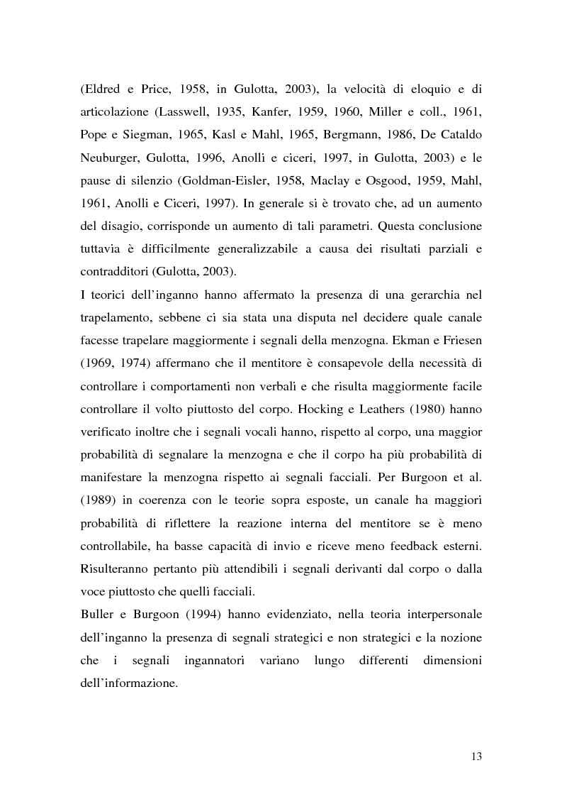 Anteprima della tesi: Vere bugie e false verità, Pagina 10