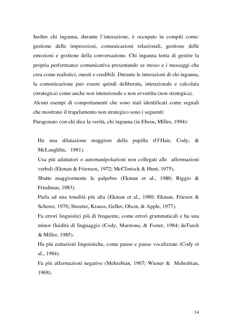 Anteprima della tesi: Vere bugie e false verità, Pagina 11