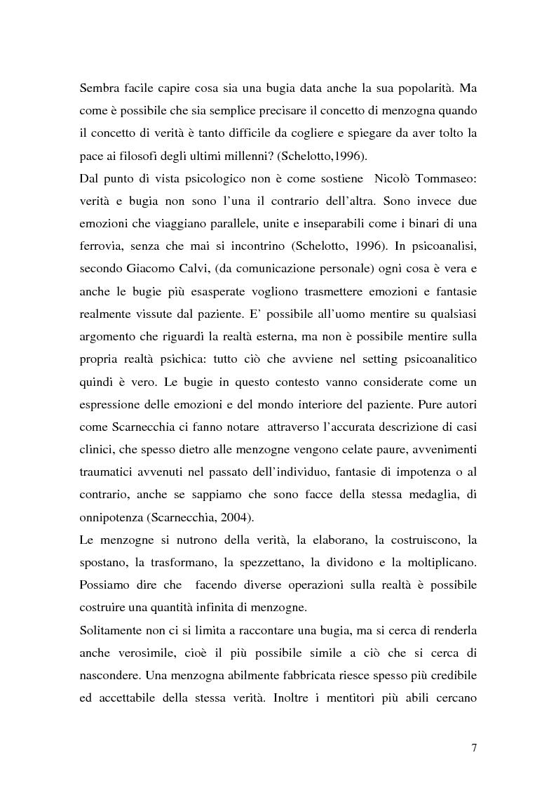 Anteprima della tesi: Vere bugie e false verità, Pagina 4