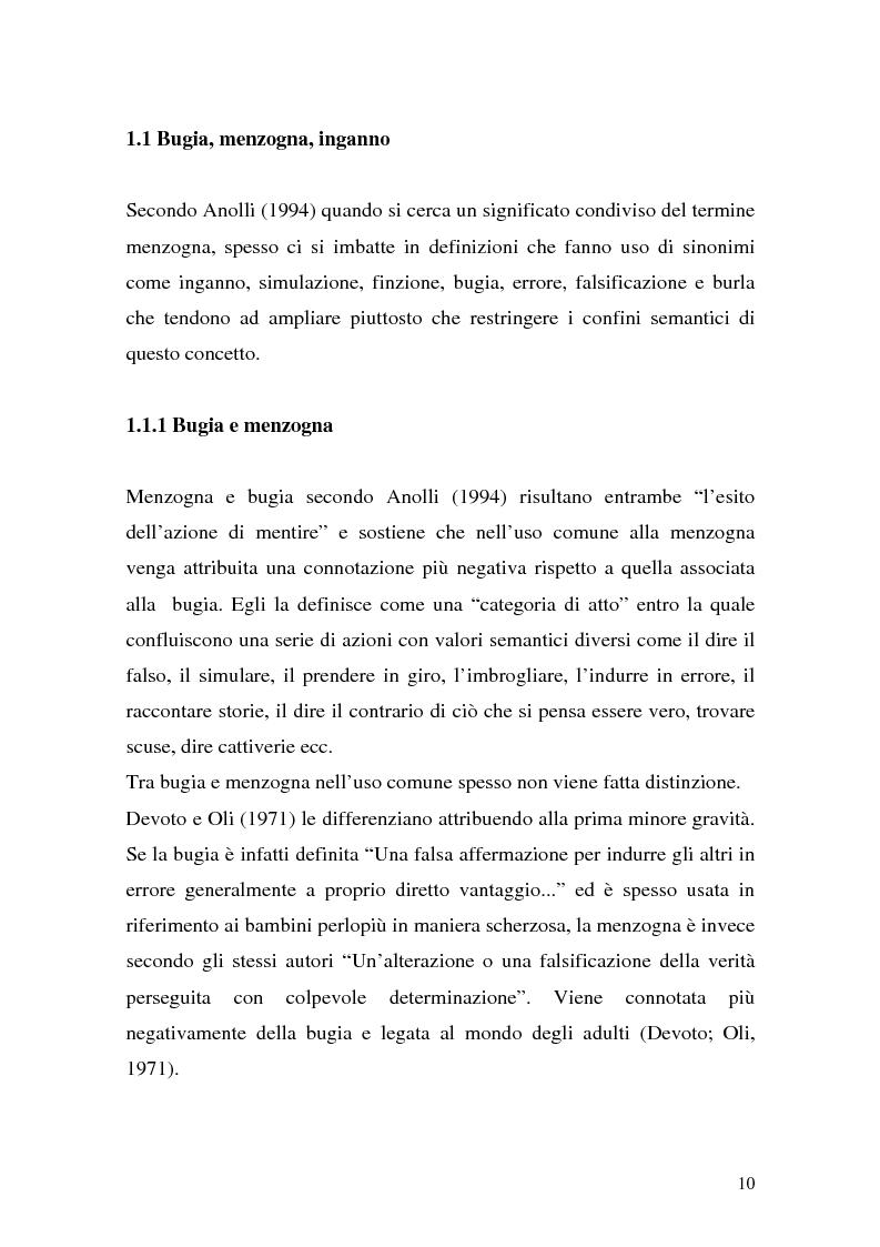 Anteprima della tesi: Vere bugie e false verità, Pagina 7