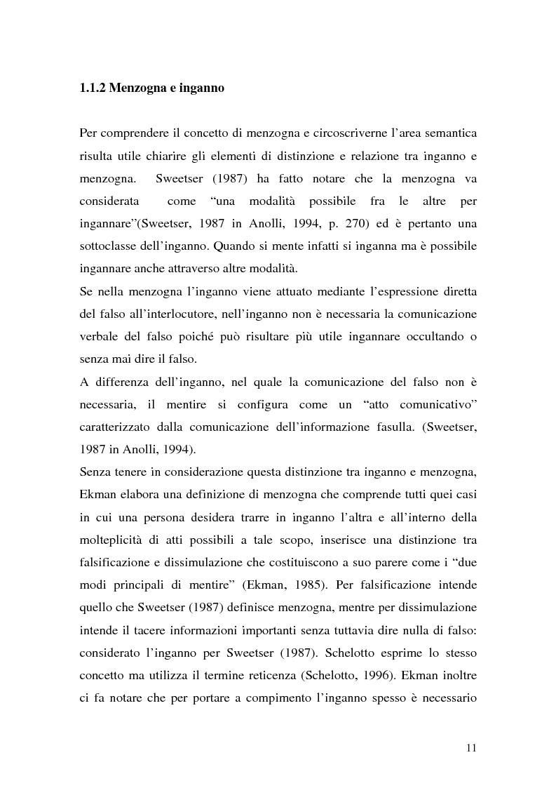 Anteprima della tesi: Vere bugie e false verità, Pagina 8