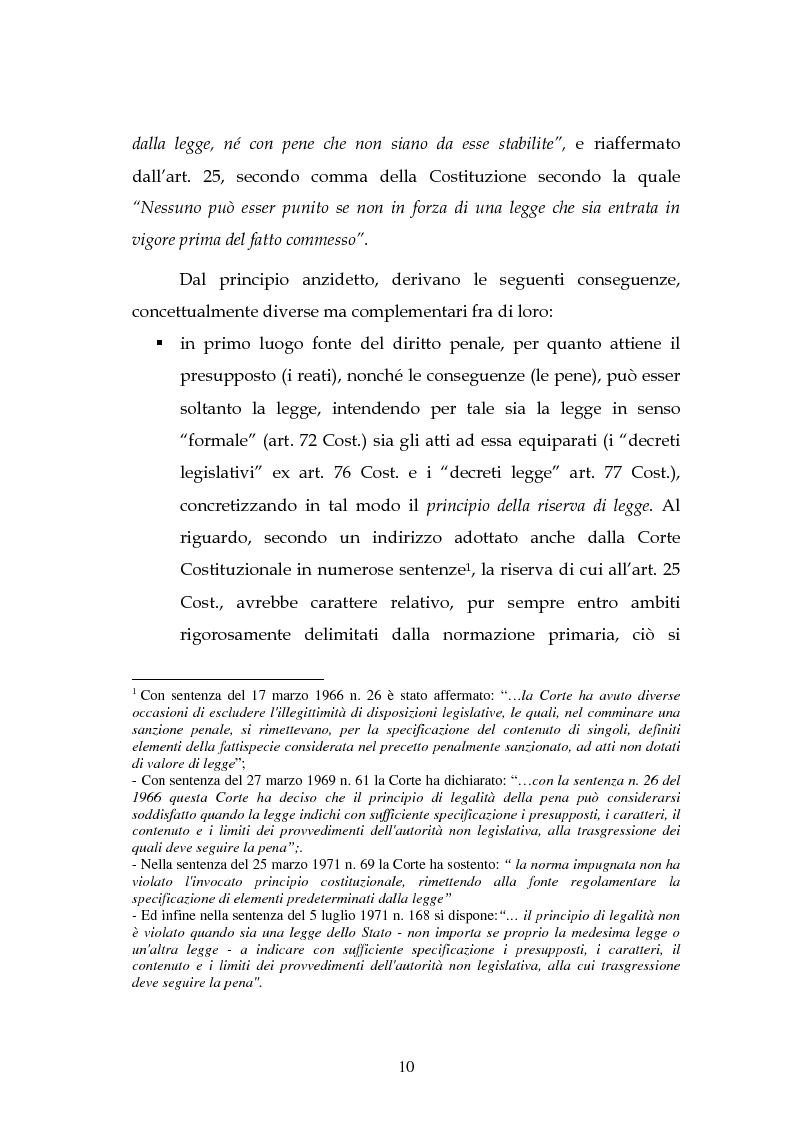 Anteprima della tesi: Profili dell'illecito penale tributario, Pagina 2