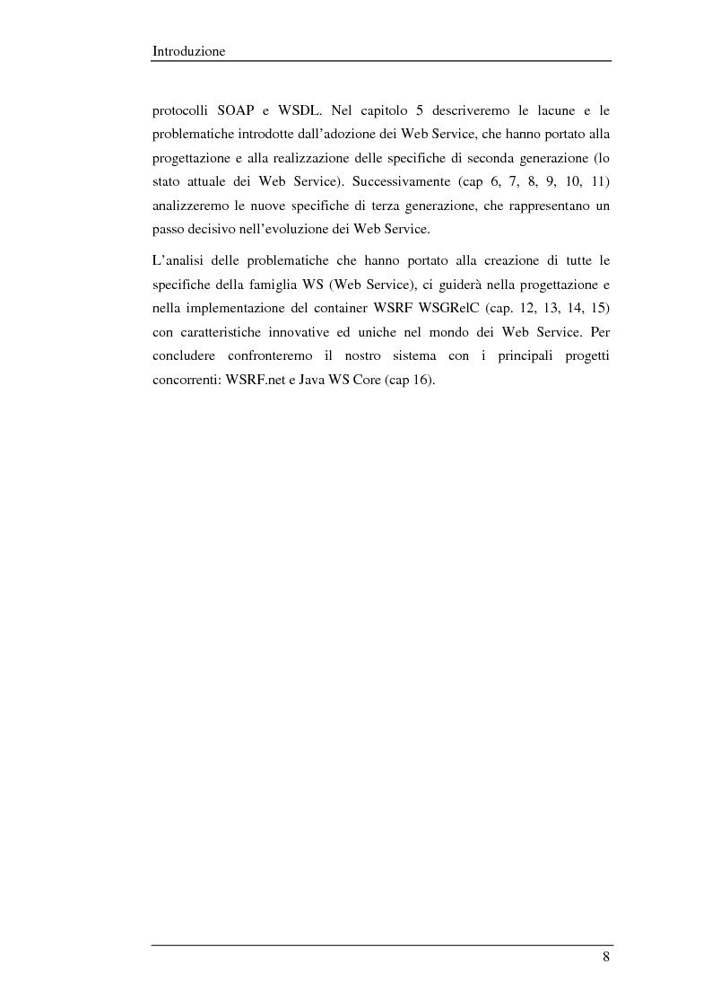 Anteprima della tesi: WSGRelC un container wsrf in ambiente di griglia, Pagina 2
