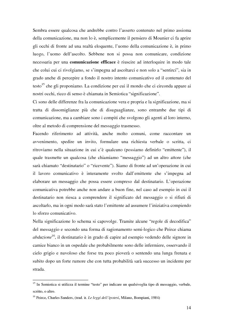 Anteprima della tesi: Evoluzione della comunicazione organizzativa in una Public Utility - il caso Poste Italiane, Pagina 10