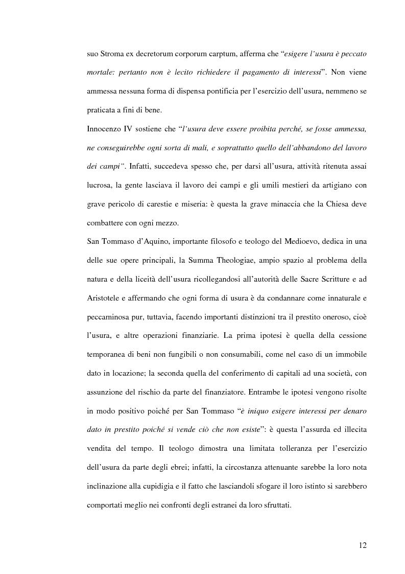 Anteprima della tesi: L'usura, Pagina 12