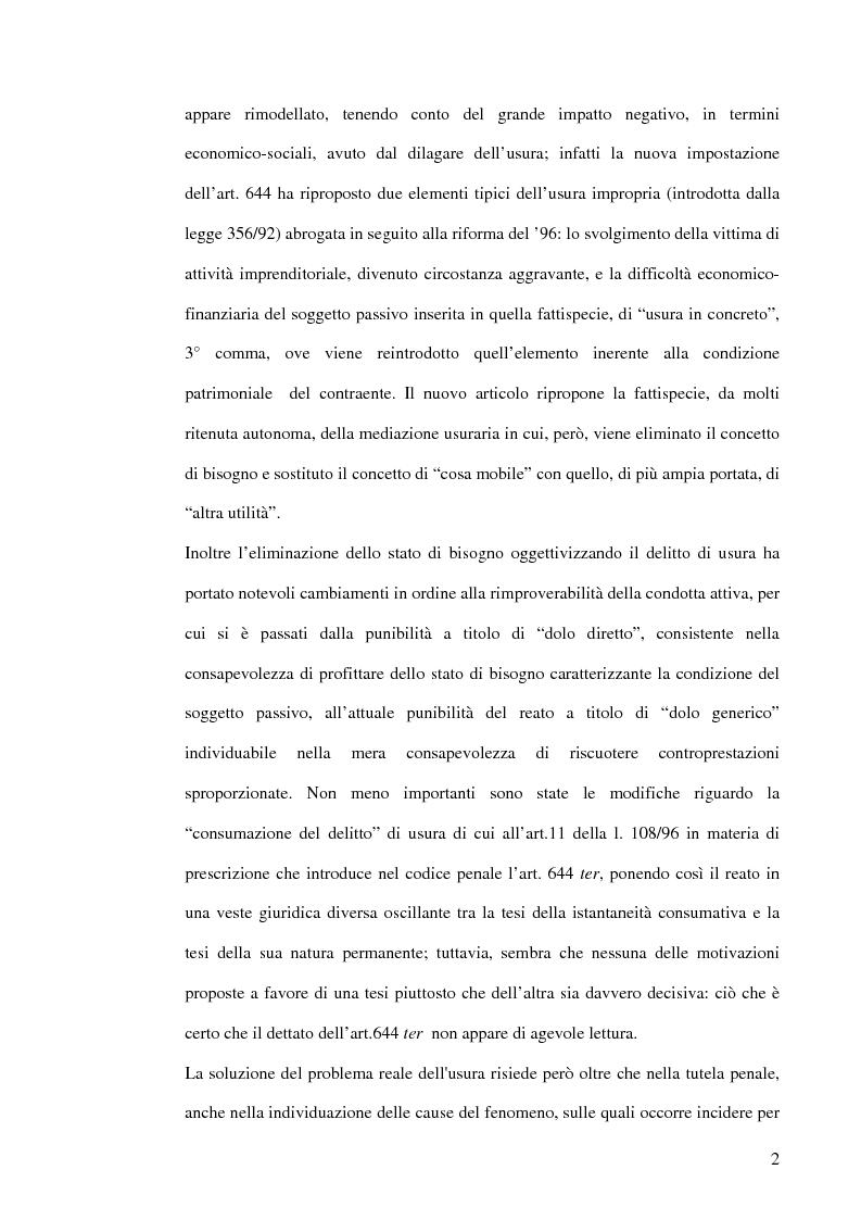 Anteprima della tesi: L'usura, Pagina 2