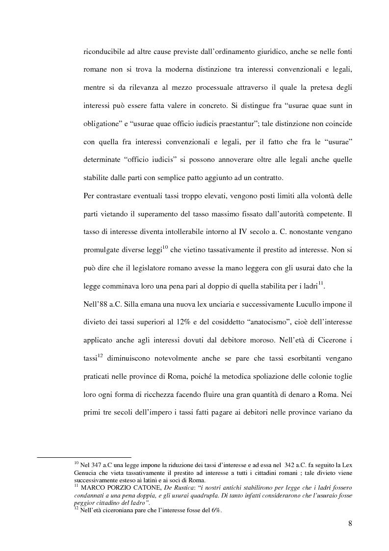Anteprima della tesi: L'usura, Pagina 8