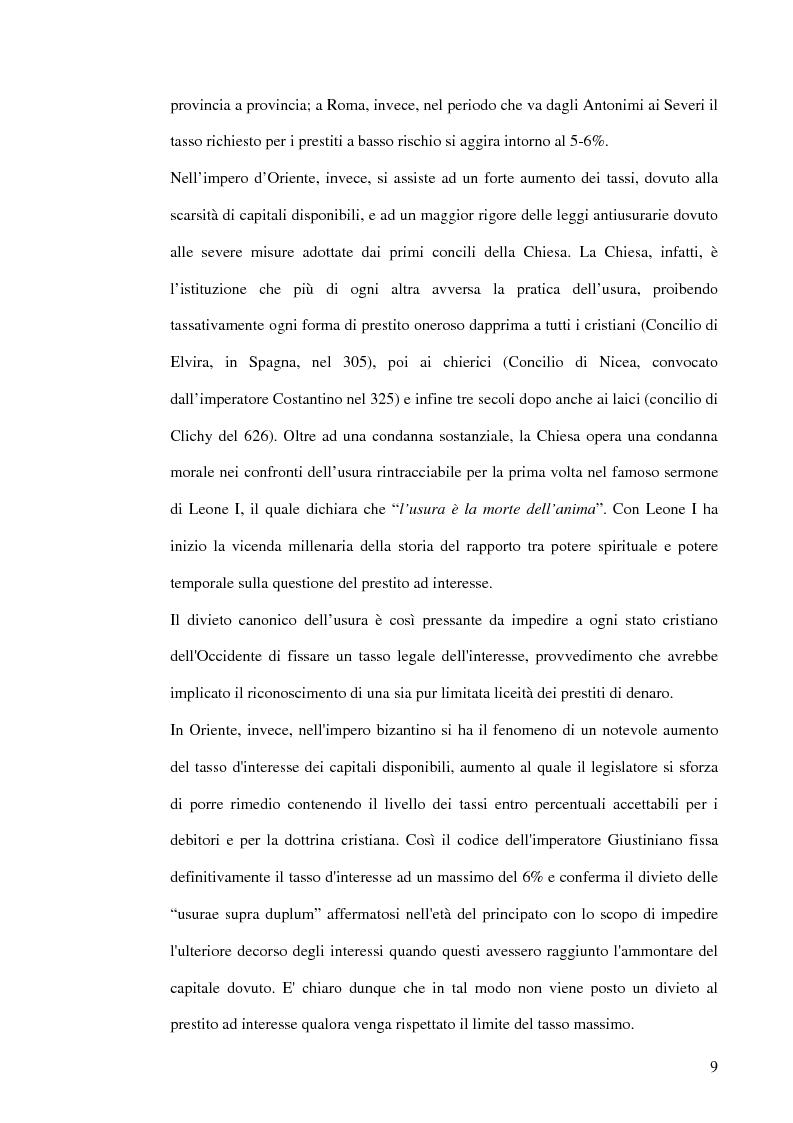 Anteprima della tesi: L'usura, Pagina 9