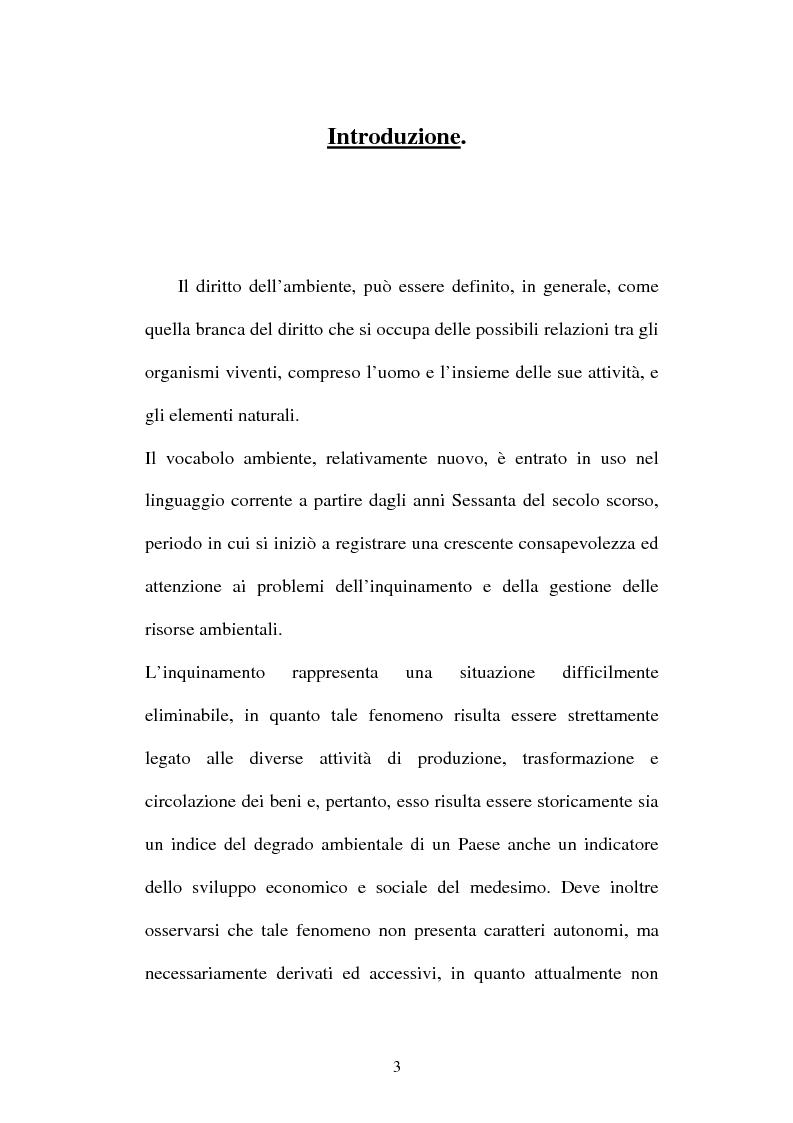 Anteprima della tesi: L'inquinamento atmosferico, Pagina 1