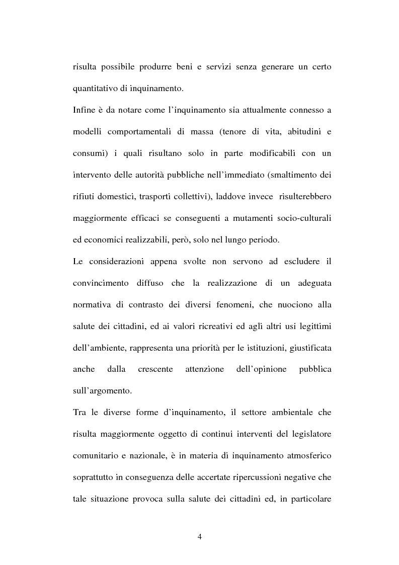 Anteprima della tesi: L'inquinamento atmosferico, Pagina 2