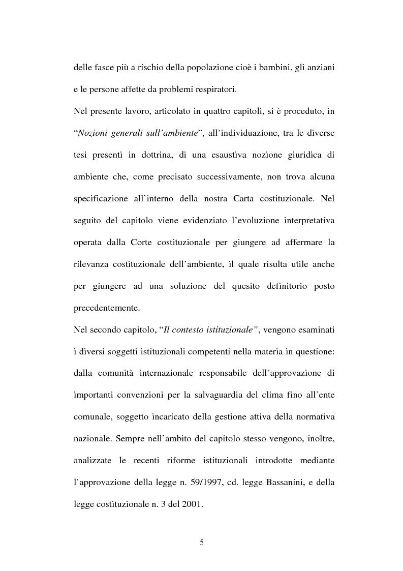Anteprima della tesi: L'inquinamento atmosferico, Pagina 3