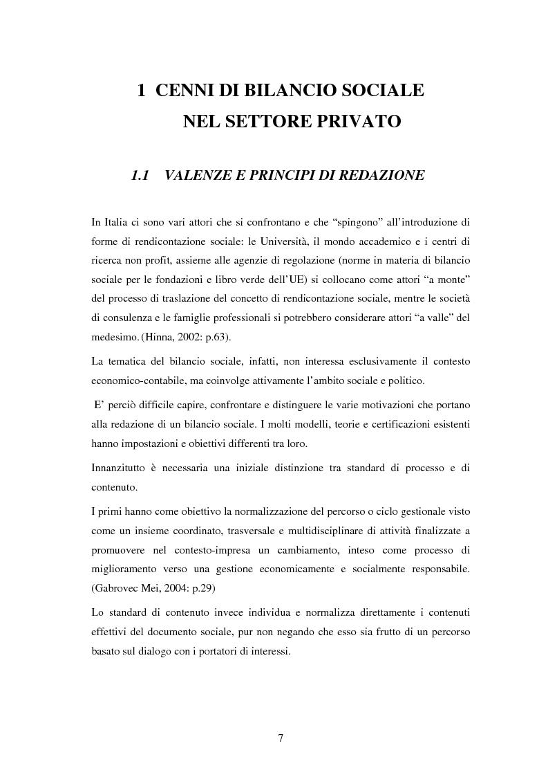 Anteprima della tesi: Il bilancio sociale nelle aziende sanitarie: un modello di referimento, Pagina 3