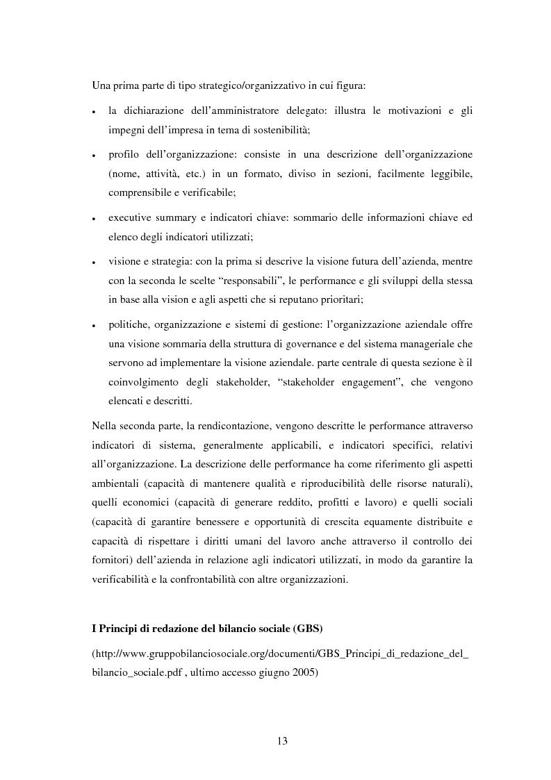 Anteprima della tesi: Il bilancio sociale nelle aziende sanitarie: un modello di referimento, Pagina 9