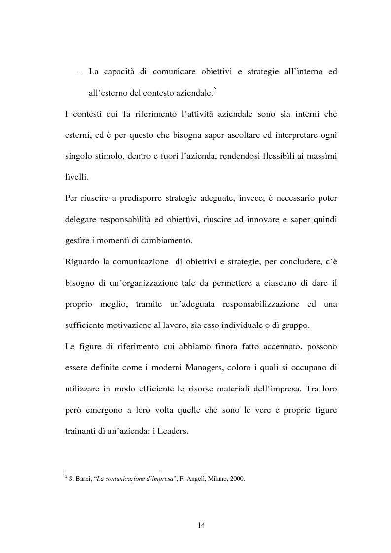Anteprima della tesi: La gestione dell'area comunicazione e marketing in una moderna società sportiva: il caso S.S. Lazio, Pagina 10
