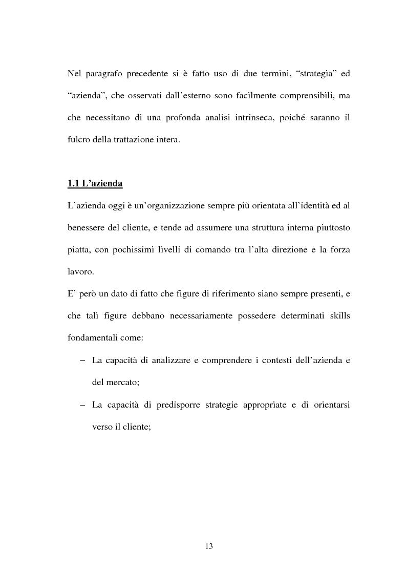 Anteprima della tesi: La gestione dell'area comunicazione e marketing in una moderna società sportiva: il caso S.S. Lazio, Pagina 9