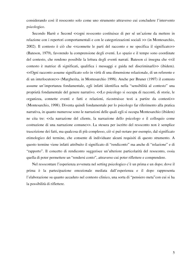 Anteprima della tesi: Resoconto clinico di tiirocinio esperienza nell'ASL di Frosinone, Pagina 4