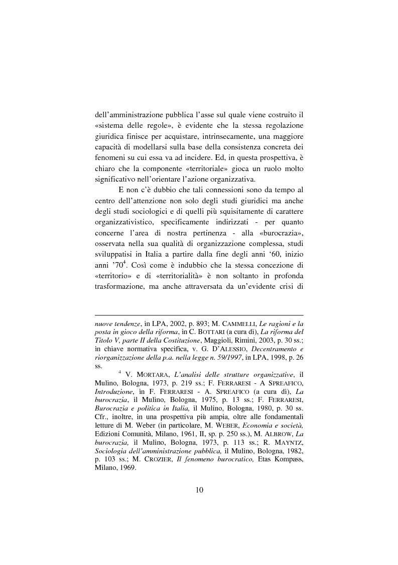 Anteprima della tesi: Il lavoro pubblico locale. Decentramento istituzionale e rapporti ''flessibili''., Pagina 3
