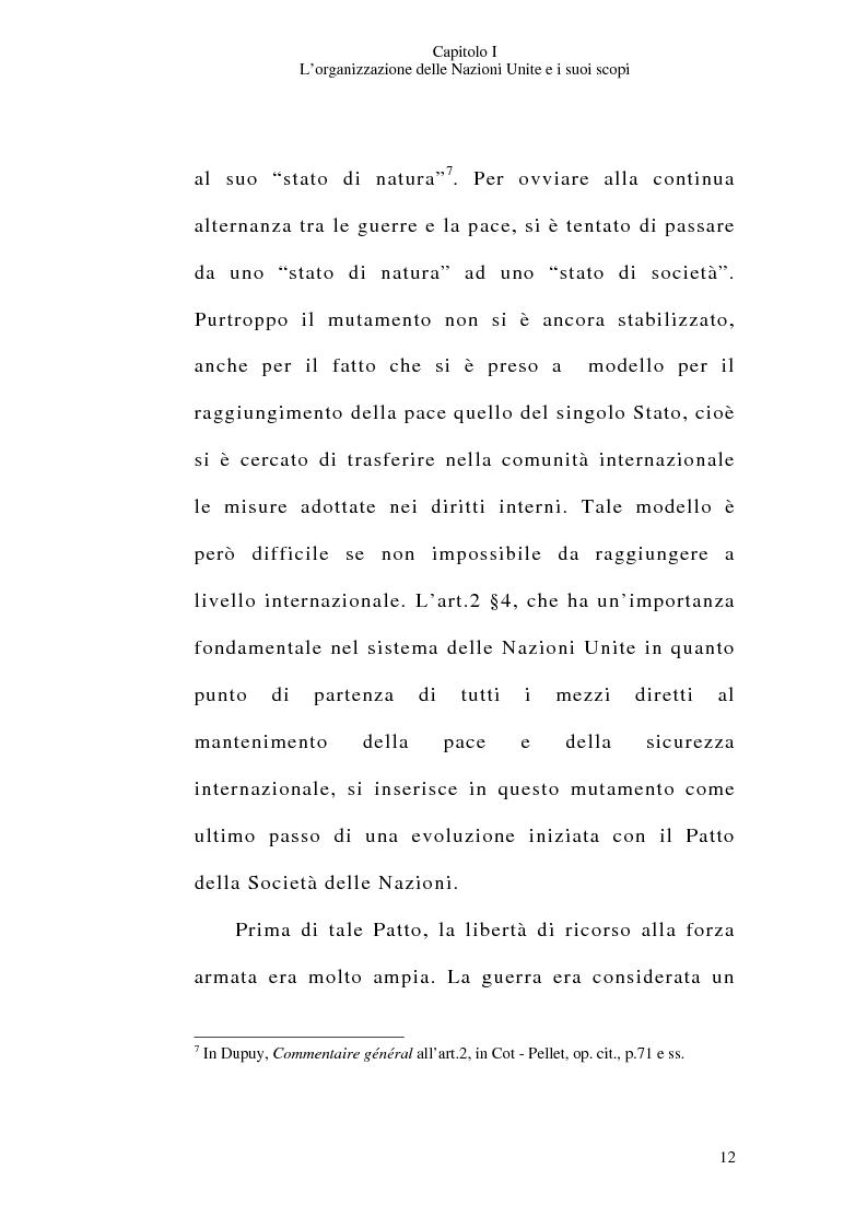 Anteprima della tesi: Il consenso dello Stato e le operazioni di pace delle Nazioni Unite, Pagina 12