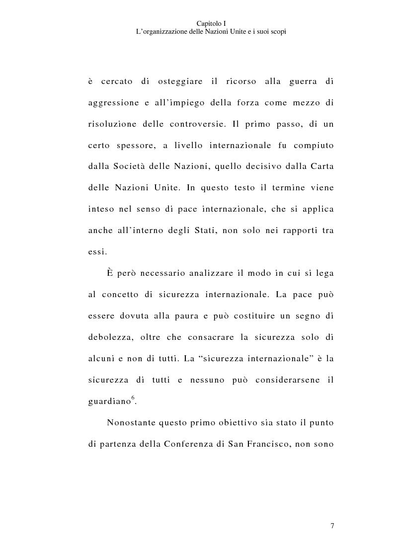Anteprima della tesi: Il consenso dello Stato e le operazioni di pace delle Nazioni Unite, Pagina 7