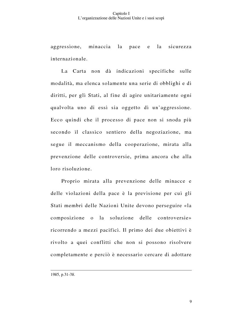 Anteprima della tesi: Il consenso dello Stato e le operazioni di pace delle Nazioni Unite, Pagina 9