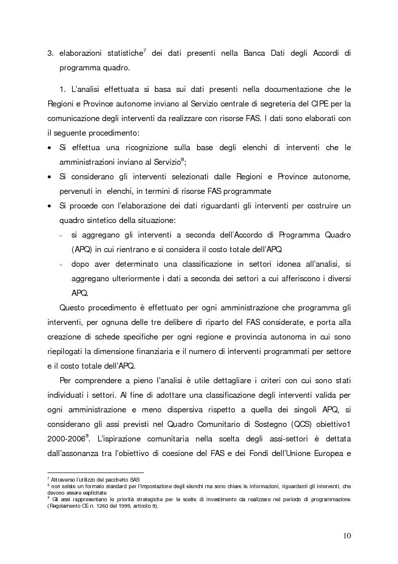Anteprima della tesi: Accumulo di conoscenze nella programmazione regionale degli investimenti pubblici, Pagina 7
