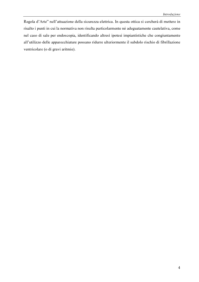 Anteprima della tesi: Il rischio elettrico in endoscopia, Pagina 2