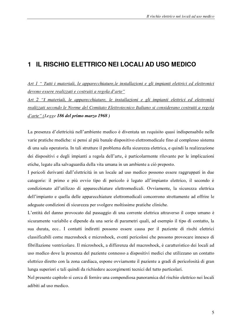 Anteprima della tesi: Il rischio elettrico in endoscopia, Pagina 3