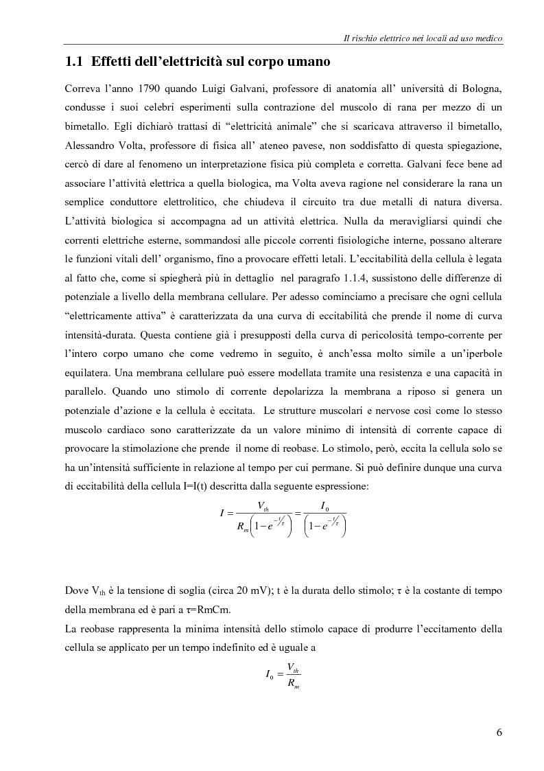 Anteprima della tesi: Il rischio elettrico in endoscopia, Pagina 4