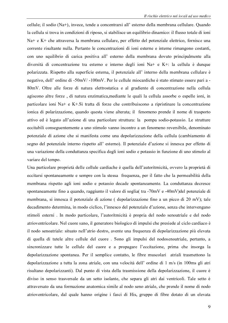 Anteprima della tesi: Il rischio elettrico in endoscopia, Pagina 7