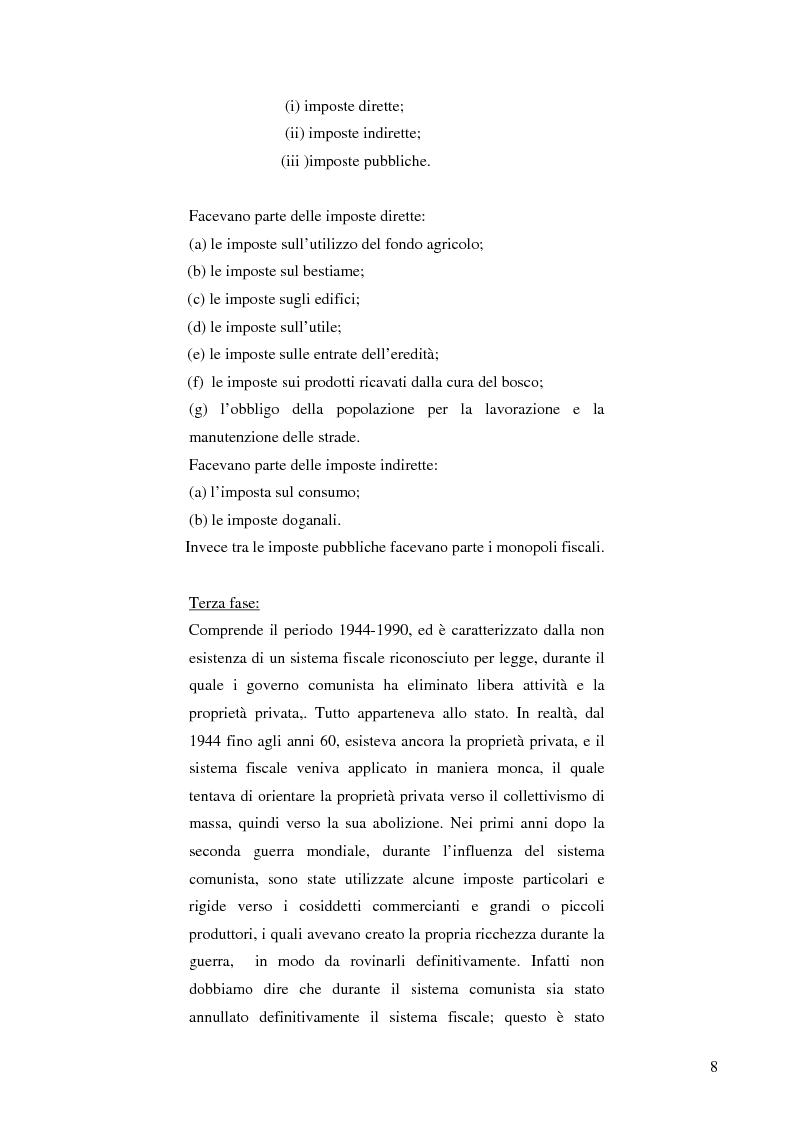 Anteprima della tesi: La politica fiscale albanese e gli obiettivi da raggiungere per entrare nell'Unione europea, Pagina 5