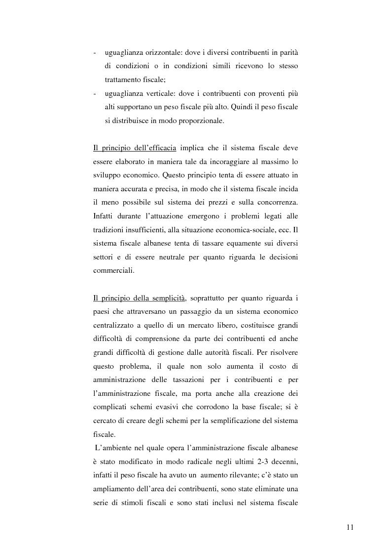 Anteprima della tesi: La politica fiscale albanese e gli obiettivi da raggiungere per entrare nell'Unione europea, Pagina 8