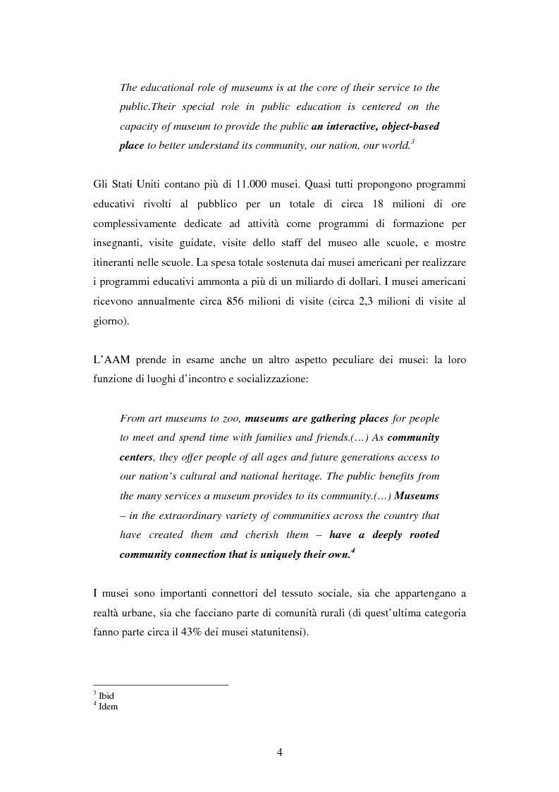 Anteprima della tesi: Strategie di Audience Development del new de Young Museum di San Francisco - The grand opening 2005, Pagina 2